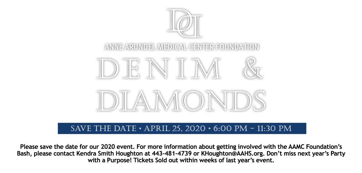 Save the Date April 25, 2020! Link: Make a Donation